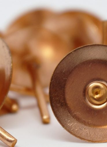 Copper Disc Rivets