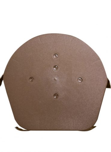 universal-brown-half-round-ridge-end-cap