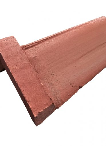 Concrete Capped / Collared Angle Ridge Tile