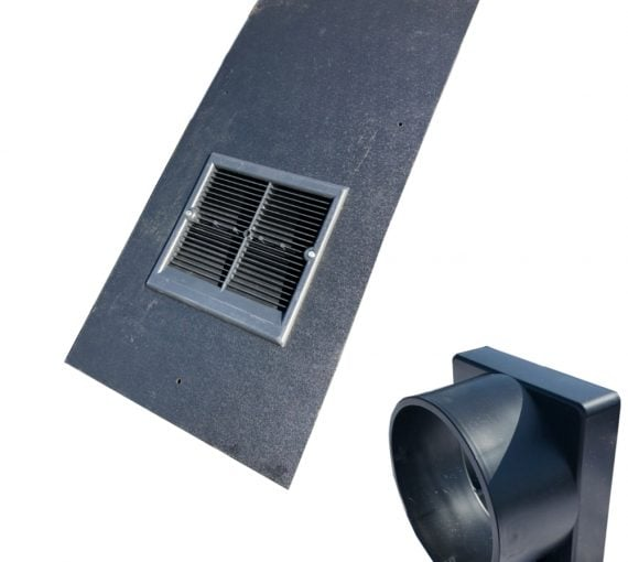 Universal In Line Slate Roof Vent 500 X 250mm M Amp M