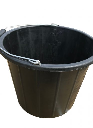 3 Gallon Black Builders Bucket