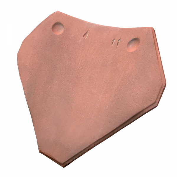 imerys burnt red clay valley tile