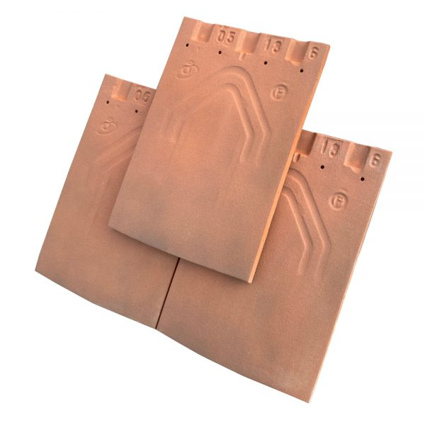 Imerys 20x30 Brunt red clay roof tile